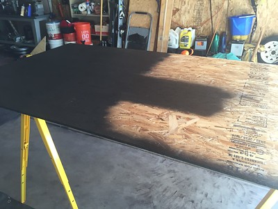 Rubberized undercoating for the bottom of floor