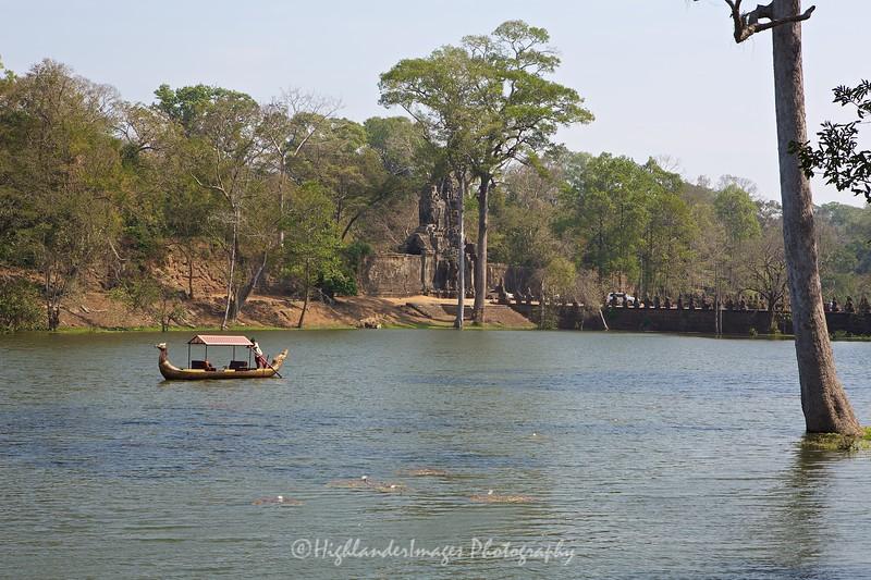 Angkor Thom South Gate, Siem Reap, Cambodia