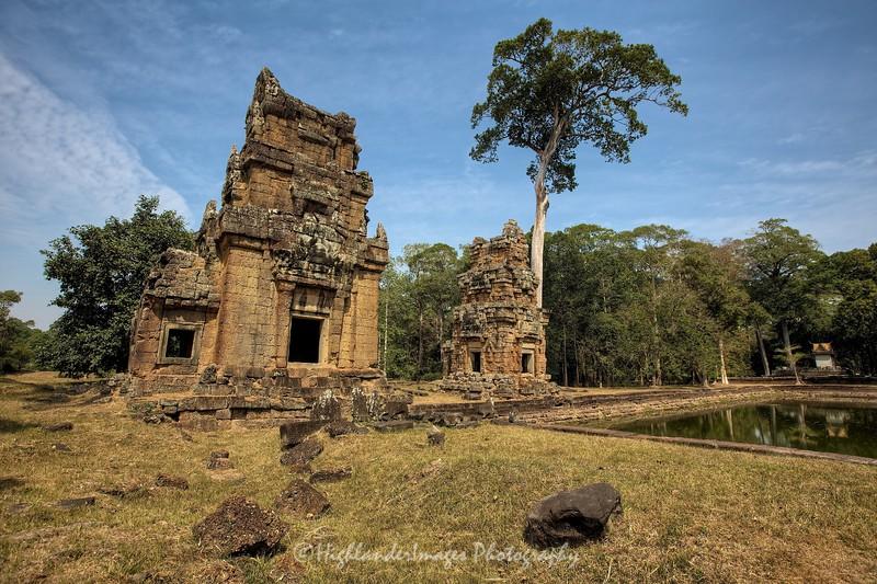 Suor Prat Tower, Angkor Thom, Siem Reap, Cambodia