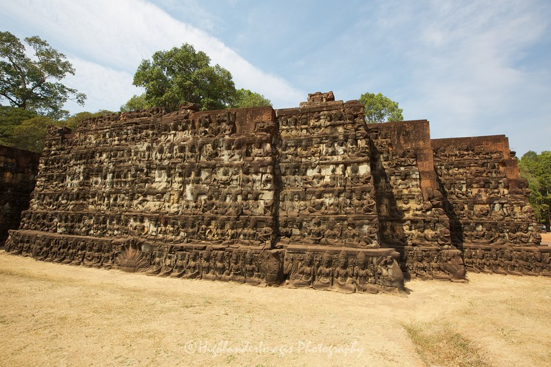 Leper King Terrace, Angkor Thom, Siem Reap, Cambodia