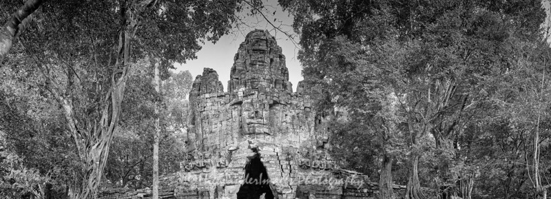 Angkor Thom West Gate, Cambodia
