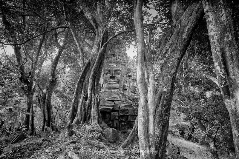 Angkor Thom West Gate, Cambodia