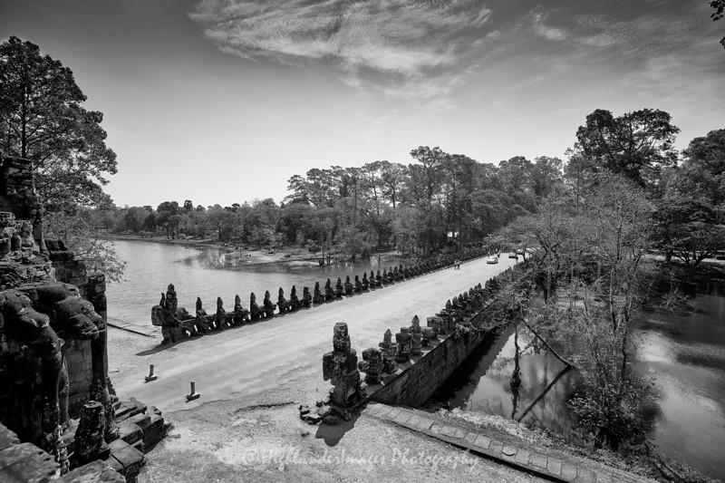 Angkor Thom South Gate, Cambodia