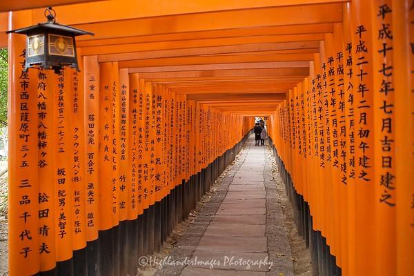 Fushimi Shrine, Iniri, Kyoto