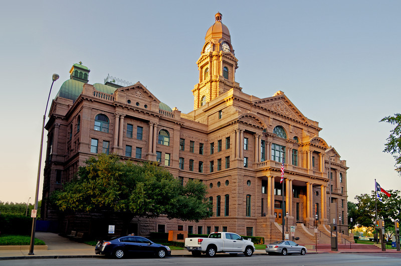 Tarrant County Courthouse, Fort Worth, TX (Oct 2012, HDR)