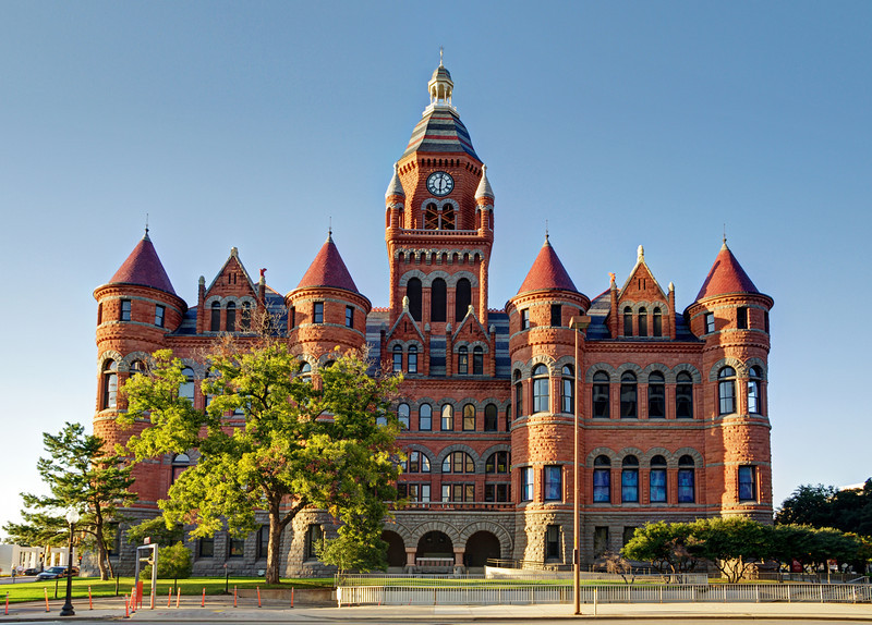 Dallas County Old Red Courthouse, Dallas, TX (Oct 2012, HDR)