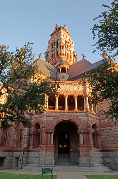 Ellis County Courthouse, Waxahachie, TX (Sep 2012, HDR)
