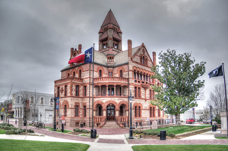 Hopkins County Courthouse, Sulphur Springs, TX (Mar 2014, HDR)