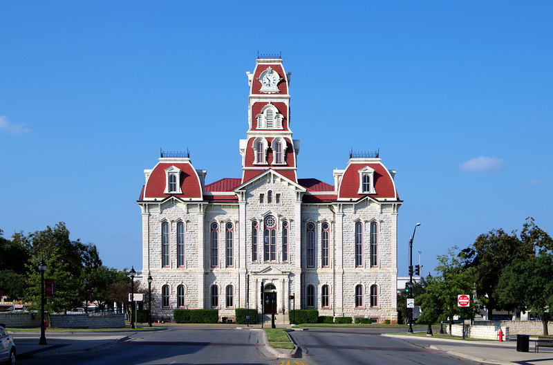 Parker County Courthouse, Weatherford, TX (Oct 2012, HDR)