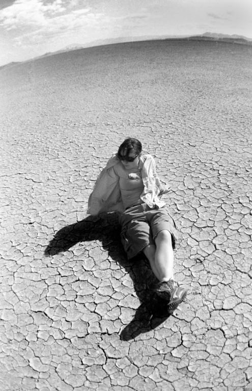 Ashley, The Alvord Desert, Oregon