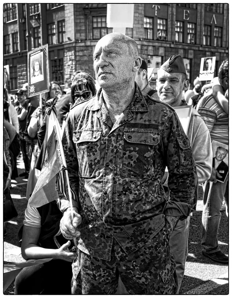 A veteran of the Russian war in Afghanistan .
