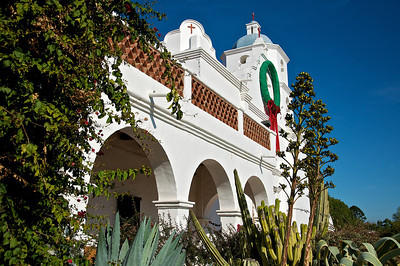 Mission number two on the Trail is San Luis Rey de Francia. It was the 18th Mission constructed and is a little inland from Oceanside.