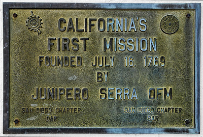 The first stop on the Mission Trail, and also the first one to be built, is San Diego de Alcala. It is located in San Diego.