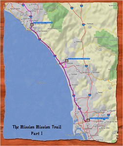Mission Mission Trail Map Pt.1