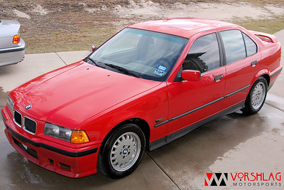 Vorshlag E36 325i - The Red Bullet