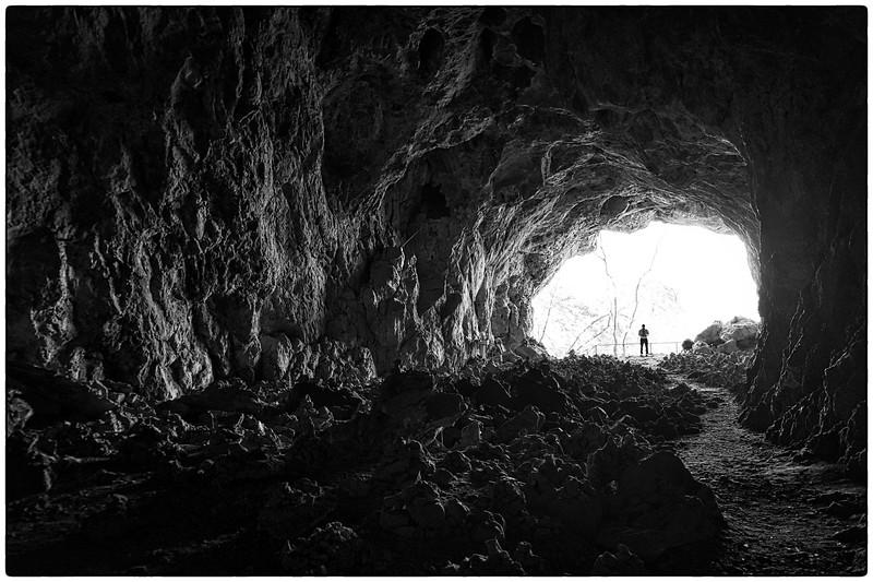 Natural cave formation  at Tham Piu