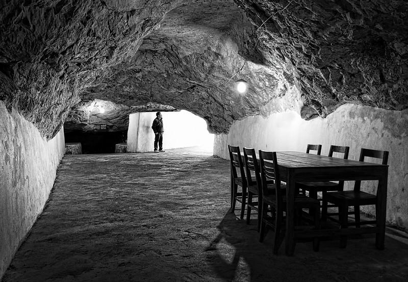 Pathet Lao Cave complex near Vieng Xai