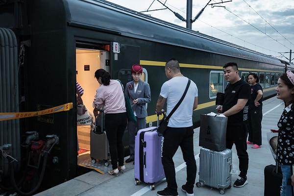 CHINA - TIBET TRAIN
