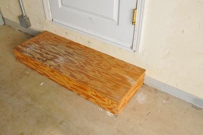 Tiled Step at Rental