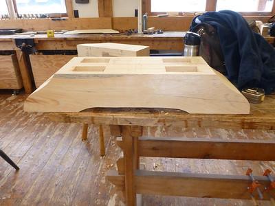 Timbered Workbench