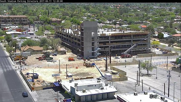 13-9168 South Stadium Parking Structure