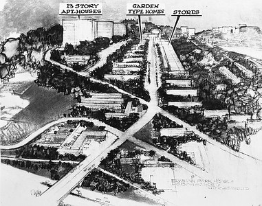 1952, Elysian Park Heights Rendering