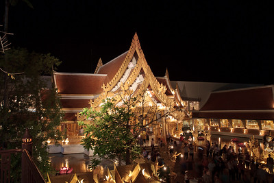 Golden Kinnaree Restaurant, FantaSea, Kamala, Thailand