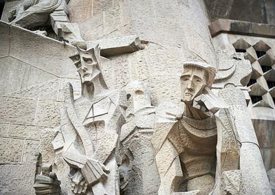 2015 Barcelona - La Sagrada Familia - Exterior 2