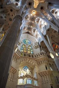 2015 Barcelona - La Sagrada Familia - Interior 3