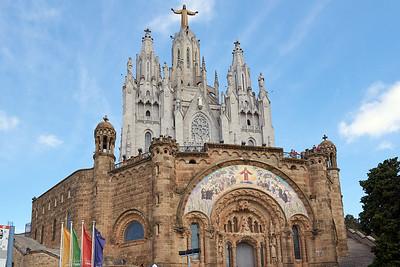 2015 Barcelona - Tibidabo - Temple del Sagrat Cor 1