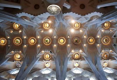 2015 Barcelona - La Sagrada Familia - Interior 8