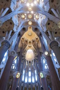 2015 Barcelona - La Sagrada Familia - Interior 7