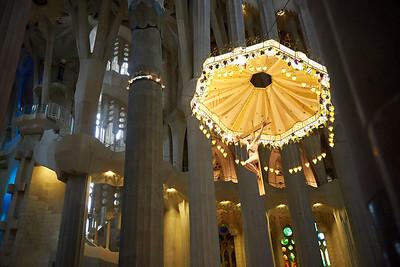2015 Barcelona - La Sagrada Familia - Interior 4