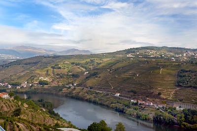 2015 Douro Valley - View from Delfim Douro Hotel 2