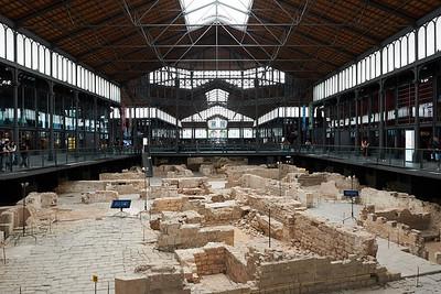 2015 Barcelona - Mercat del Born - Excavation Site