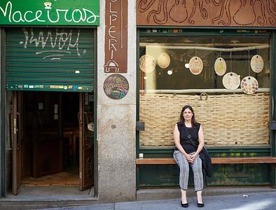 2015 Madrid - Franceen at Maceiras Restaurant
