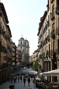 2015 Madrid - Street Near Plaza Mayor