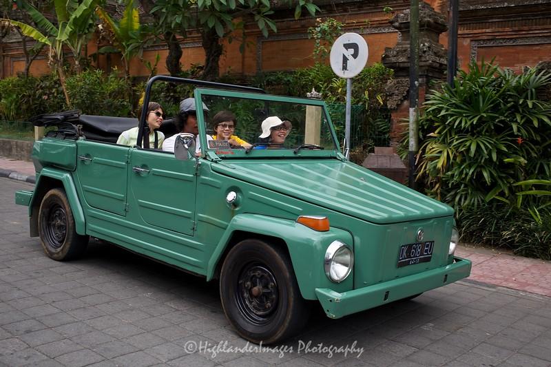 Local Jeep, Ubud