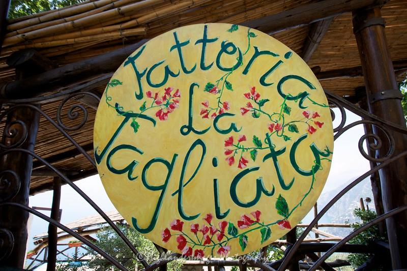 Fattoria La Tagliata, Positano, Italy