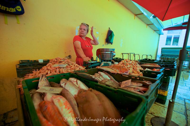 Fish Market, Split, Croatia