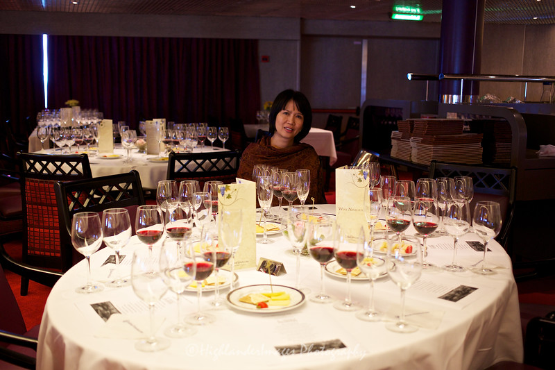 Wine tasting session, Nieuw Amsterdam
