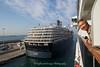 "Holland America ""Noordam"" at Barcelona harbour, Barcelona, Spain"