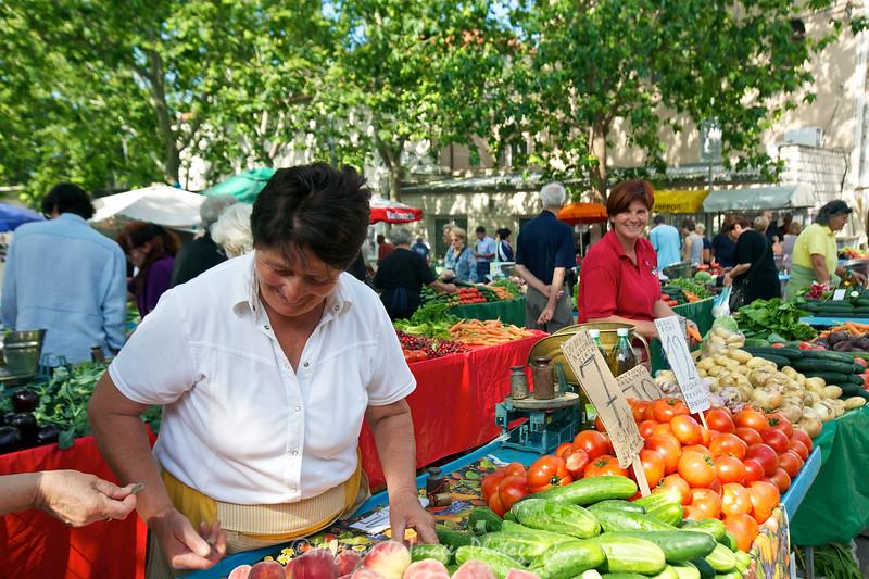 Local market, Split, Croatia