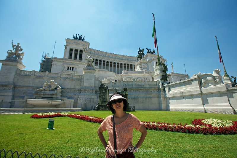 National Monument of Victor Emmanuele II, Rome, Italy
