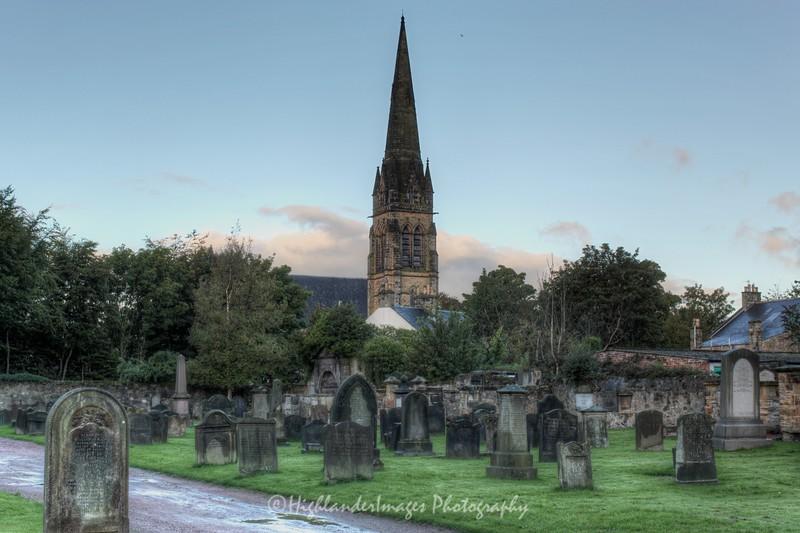 St. Bryce Old Kirk Graveyard, Kirkcaldy