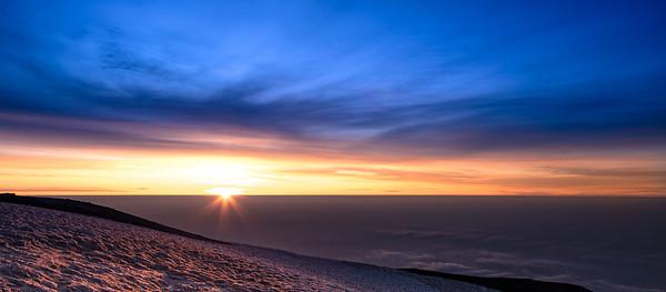 12,280ft sunrise