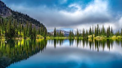 Upper Crystal Lake, Mt. Rainier National Park