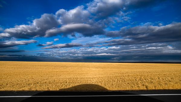 Shadow, Road R.  Grant County WA