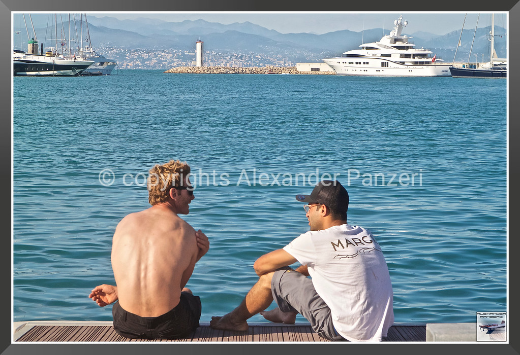 Relax for sailors copyright © photo Alexander Panzeri
