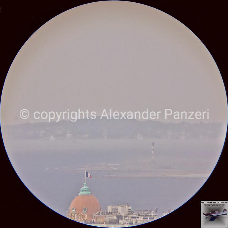 Binocular view of the starting zone - copyright © photo Alexander Panzeri